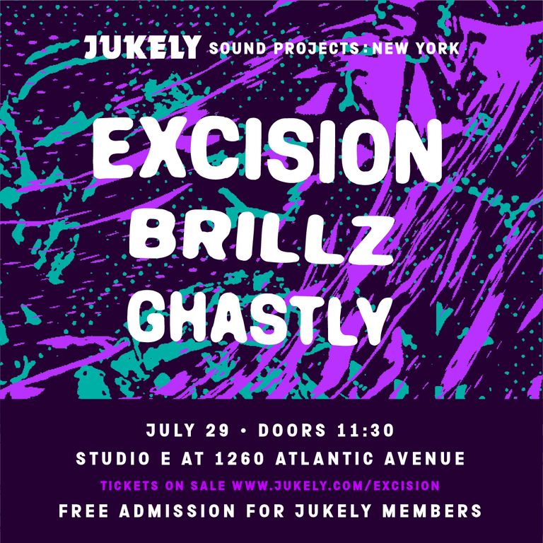 Excision, Brillz And Ghastly Team Up With Jukely Sound Projects