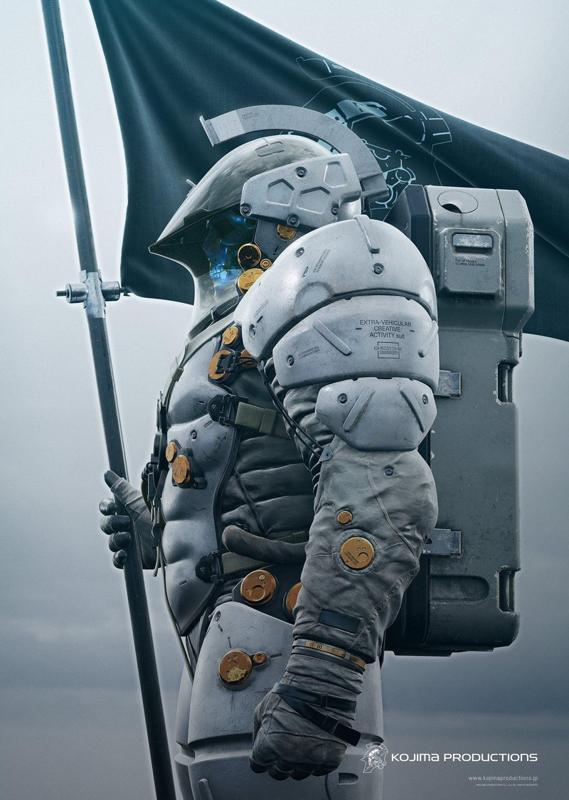 Hideo Kojima Unveils The Mascot For Kojima Productions