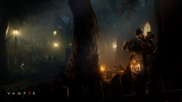 Haunting New Screenshots For Dontnod's Vampyr Showcase A Grimy Victorian London