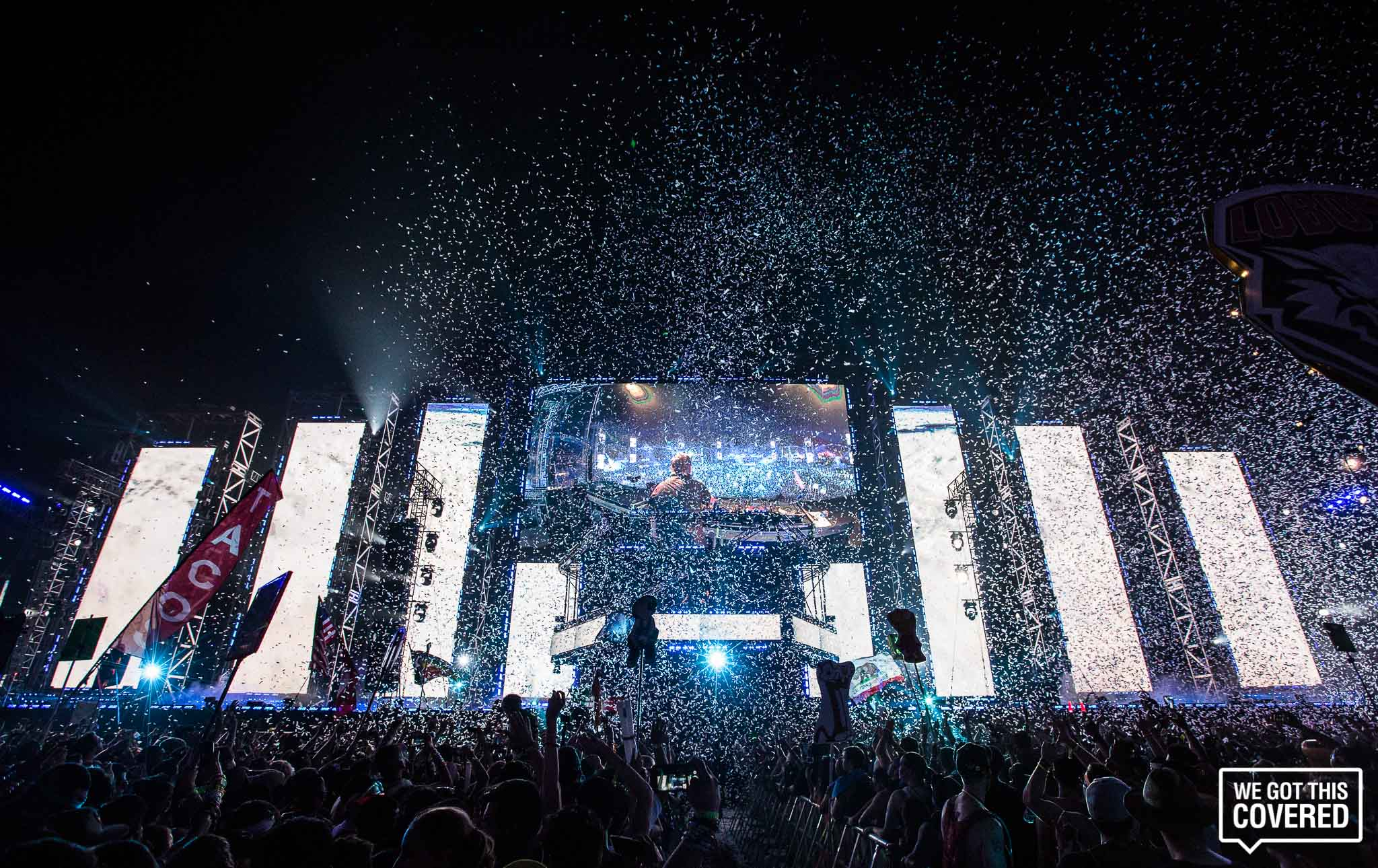 Electric Daisy Carnival (EDC) Las Vegas' KineticTEMPLE Stage Cost $3 Million