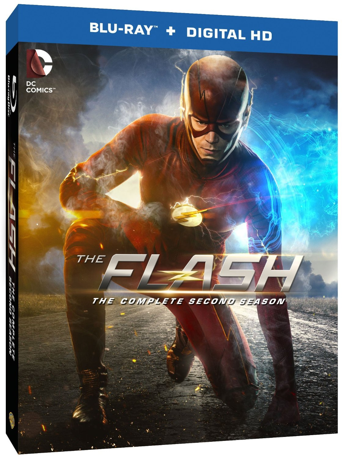 Cover Art, Release Date, And Special Features For The Flash Season 2 Blu-Ray