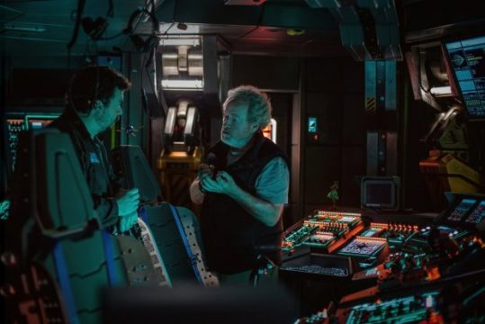 Ridley Scott And Danny McBride Feature In New Alien: Covenant Set Photo