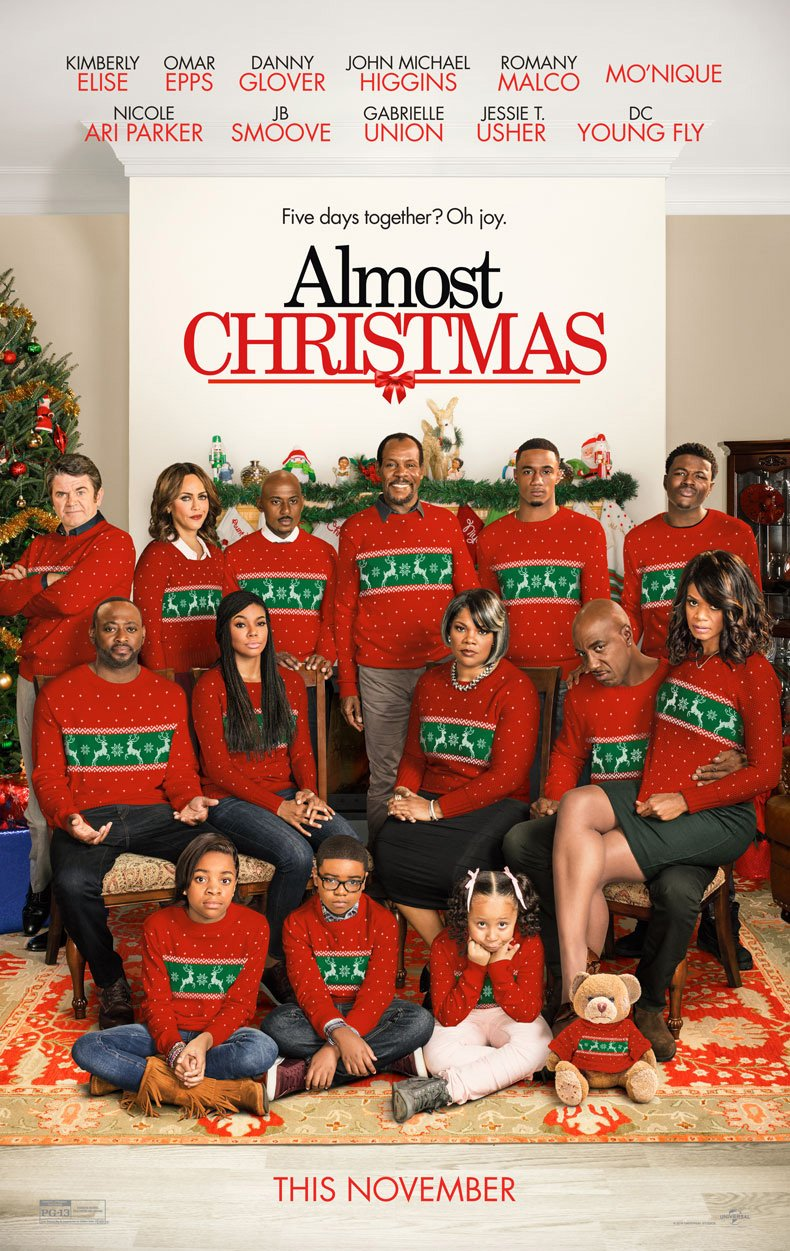 First Trailer And Poster For Almost Christmas Tease Seasonal Shenanigans