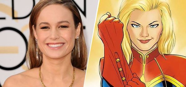 Room Star Brie Larson Is The Frontrunner To Play Captain Marvel