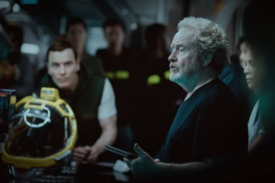 Go Behind The Scenes Of Alien: Covenant With This New Image