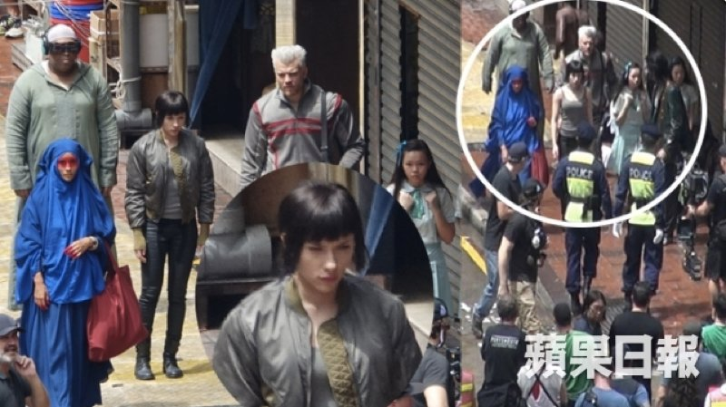 Scarlett Johansson Hits The Streets Of Hong Kong In New Ghost In The Shell Set Pics