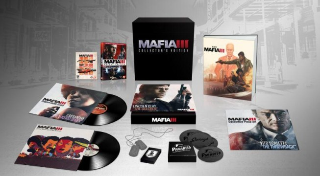 Mafia 3 Collector's Edition Bundles Together Season Pass, Art Prints And Much More