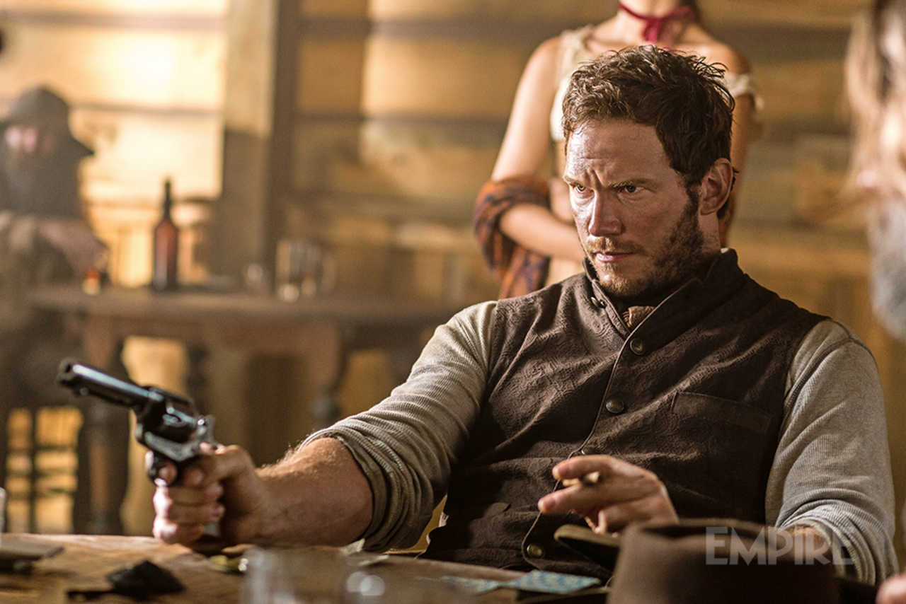 New Pic For The Magnificent Seven Remake Finds Chris Pratt Locked And Loaded