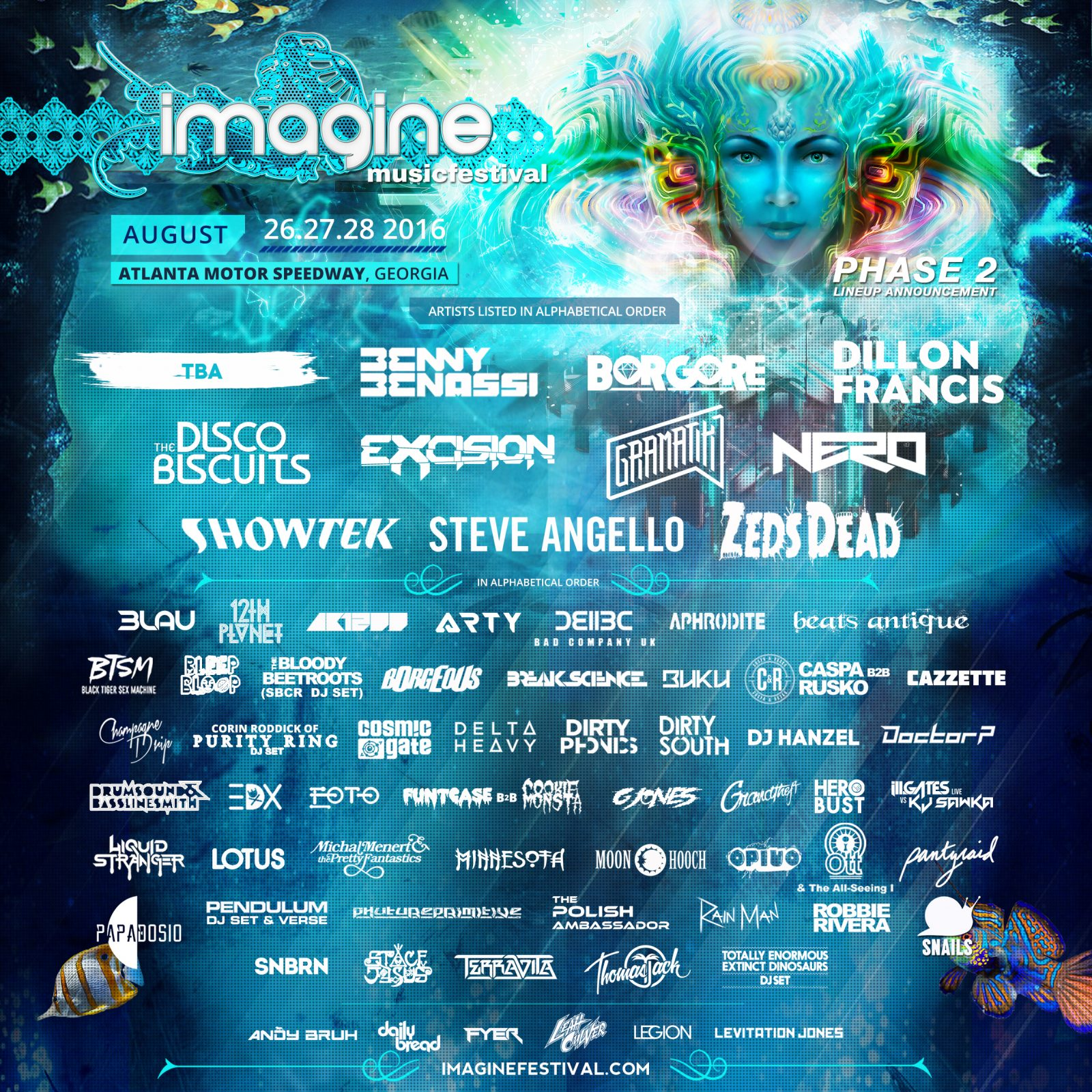 Imagine Music Festival's Phase 2 Lineup Includes DJ Hanzel's Live Debut
