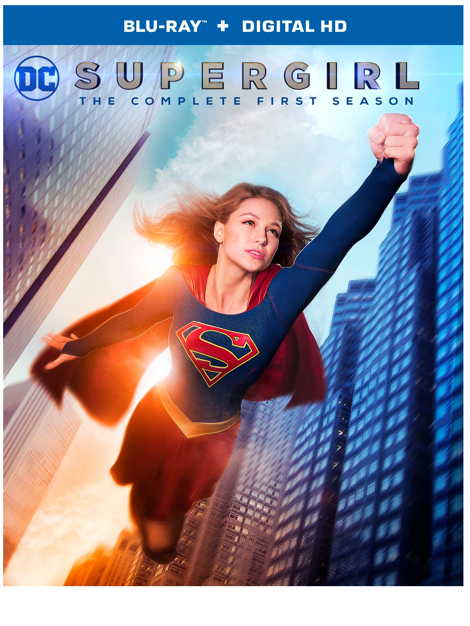 Supergirl Season 1 Blu-Ray Cover Art And Special Features Revealed