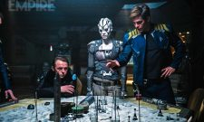 Captain Kirk Draws Up Battle Plans In New Stills For Star Trek Beyond