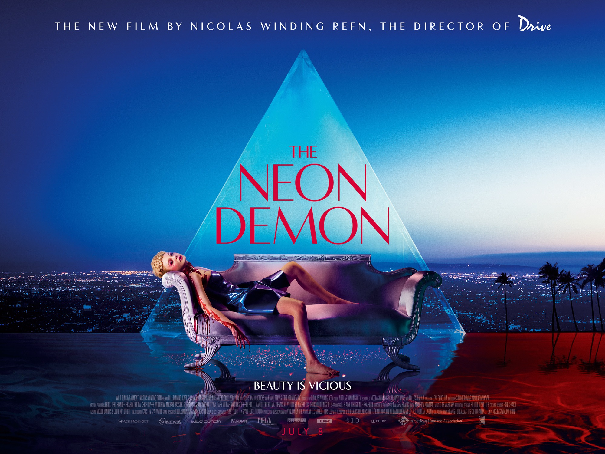 The Neon Demon Conjures Up New TV Spots And Images