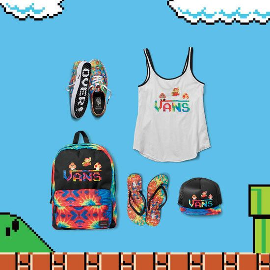 Nintendo-Themed Vans Sneakers Go On Sale In The US And Europe This Week