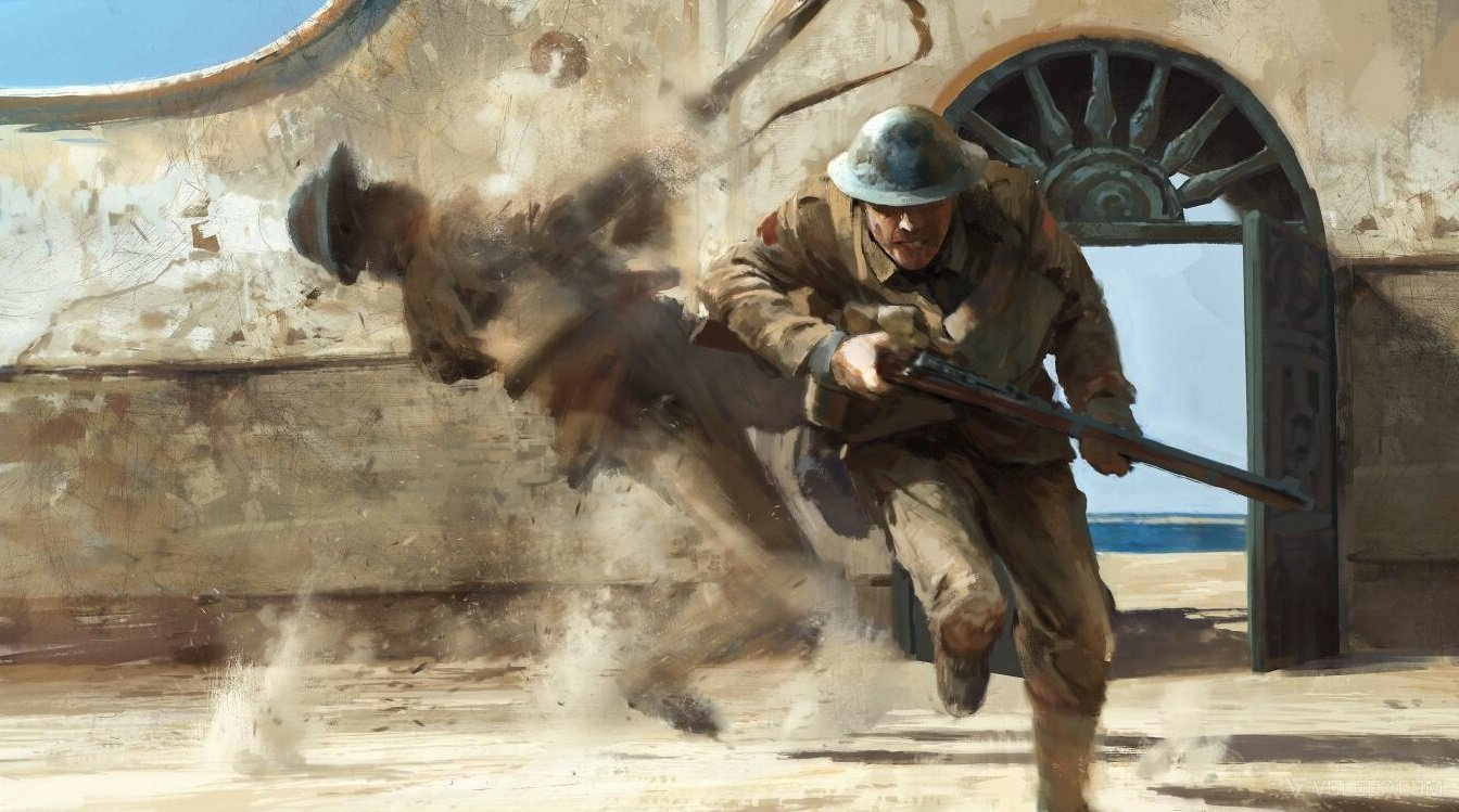 Striking Battlefield 1 Concept Art Showcases The Horrors Of The Great War