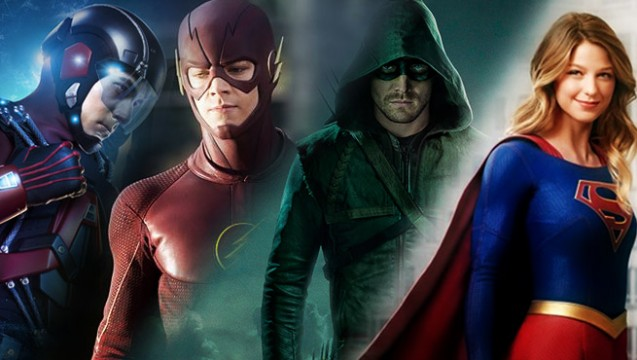 Arrow Star Stephen Amell Teases Planned Four Night DC TV Crossover