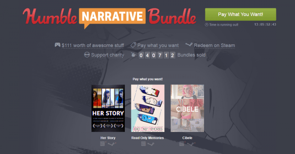 Enjoy A Good Story With The Humble Narrative Bundle