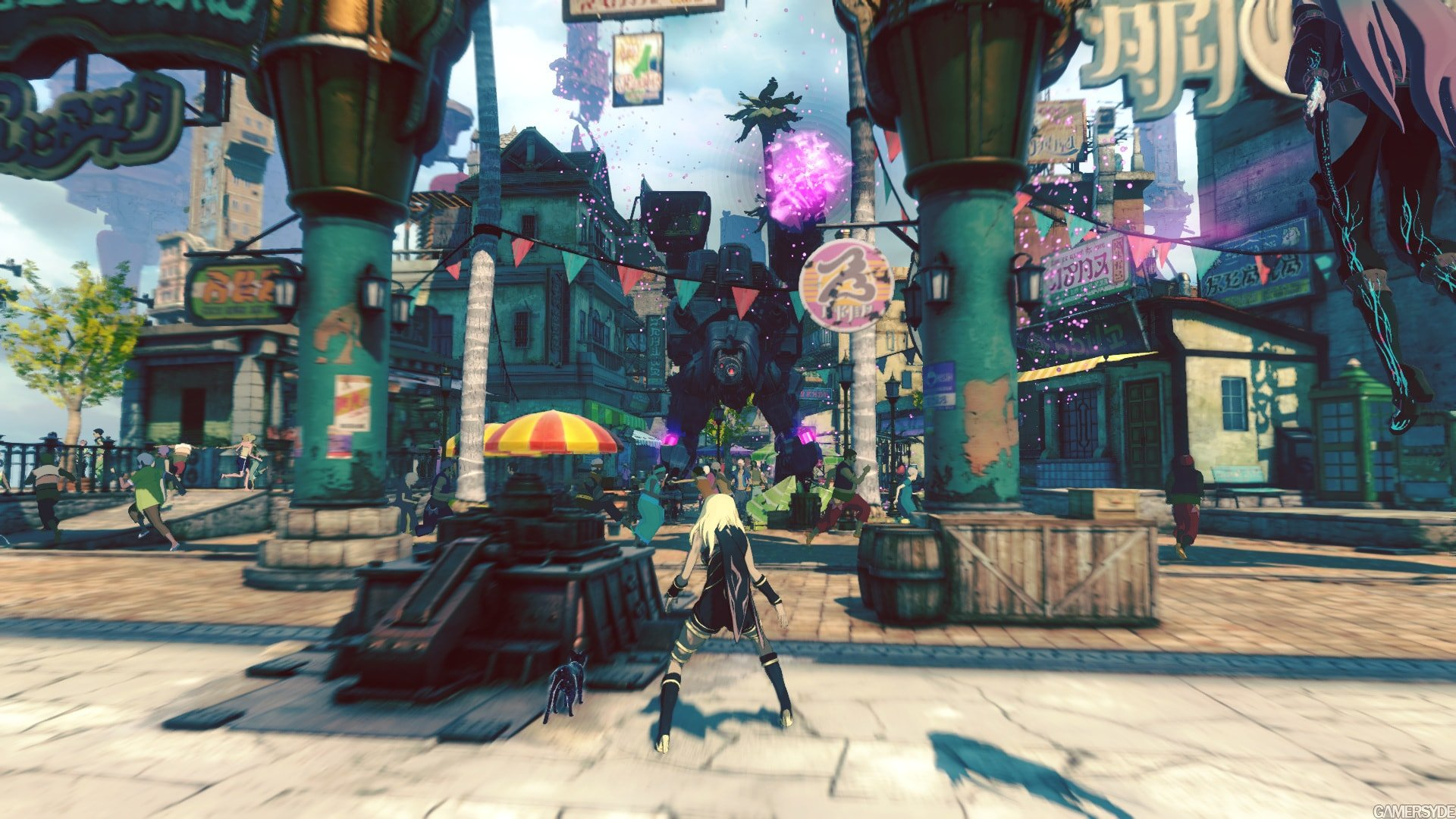 Gravity Rush 2 Info Dump Introduces The Citizens Of Banga