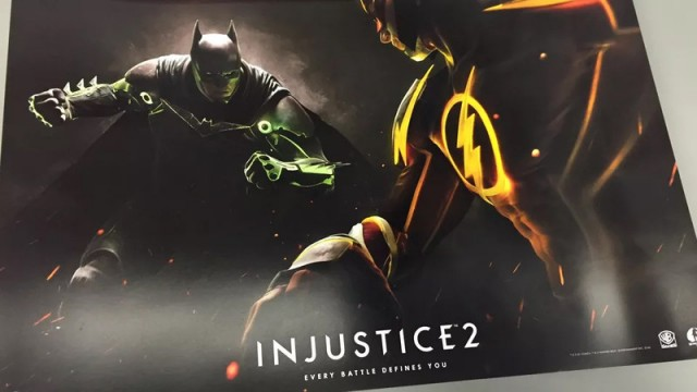 Leaked Poster Outs Injustice 2 Ahead Of Official Reveal