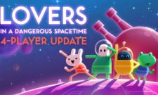 Lovers In A Dangerous Spacetime Four Player Update Launches Today