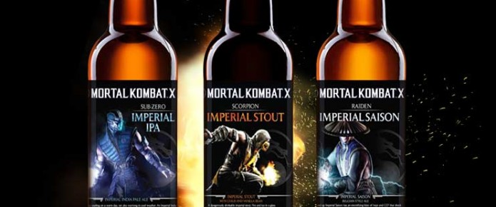 Mortal Kombat X-Inspired Beer Is Officially A Thing