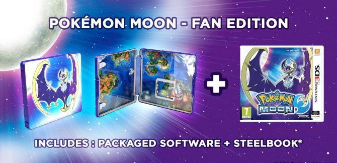 Pokemon Sun And Moon Fan Editions Announced For Europe