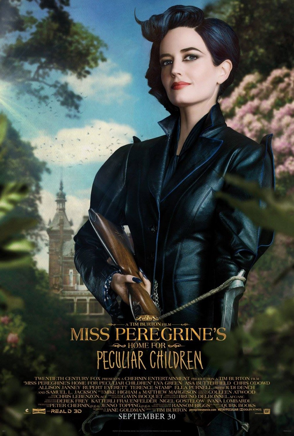 Meet The Residents Of Miss Peregrine's Home For Peculiar Children In These Character Posters