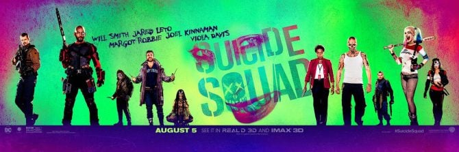 New Suicide Squad Banner Teases The Clown Prince Of Crime
