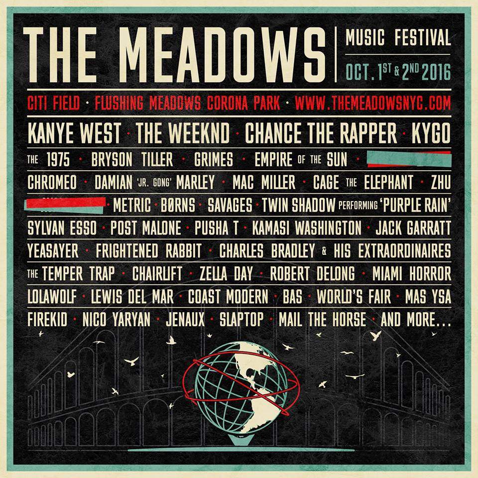 Kygo, The Weeknd And Kanye West Top The Meadows Lineup