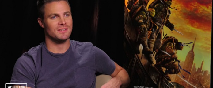 Exclusive Video Interview: Stephen Amell Talks Teenage Mutant Ninja Turtles: Out Of The Shadows