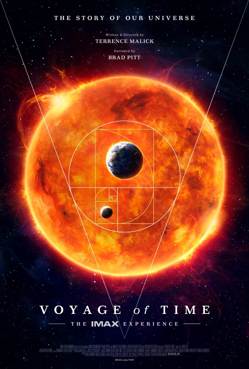 IMAX Poster For Terrence Malick's Voyage Of Time Teases Celestial Beauty