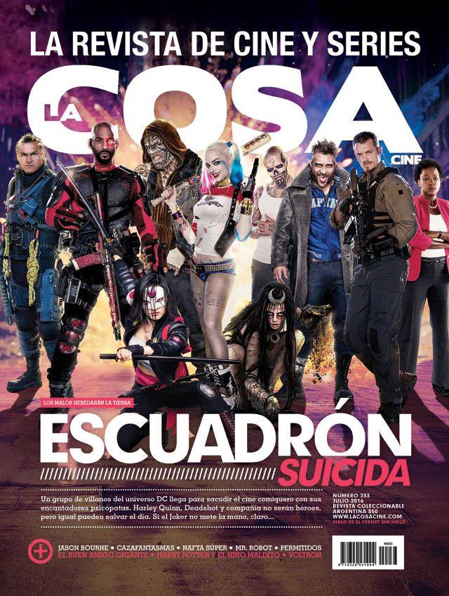 The Suicide Squad Assembles On International Magazine Cover