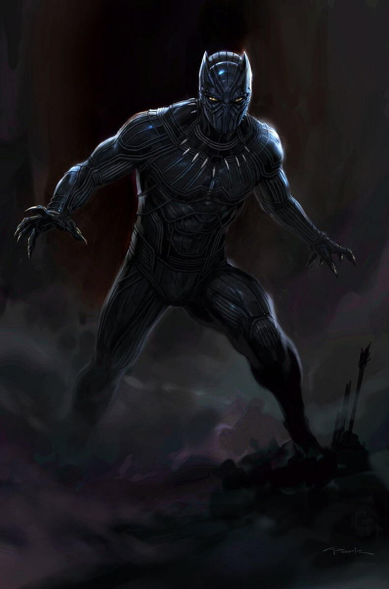 Captain America: Civil War Concept Art Features An Alternate Look For Black Panther