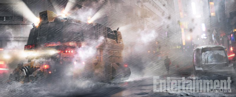 First Blade Runner 2 Concept Art Unveils A Drenched Dystopia
