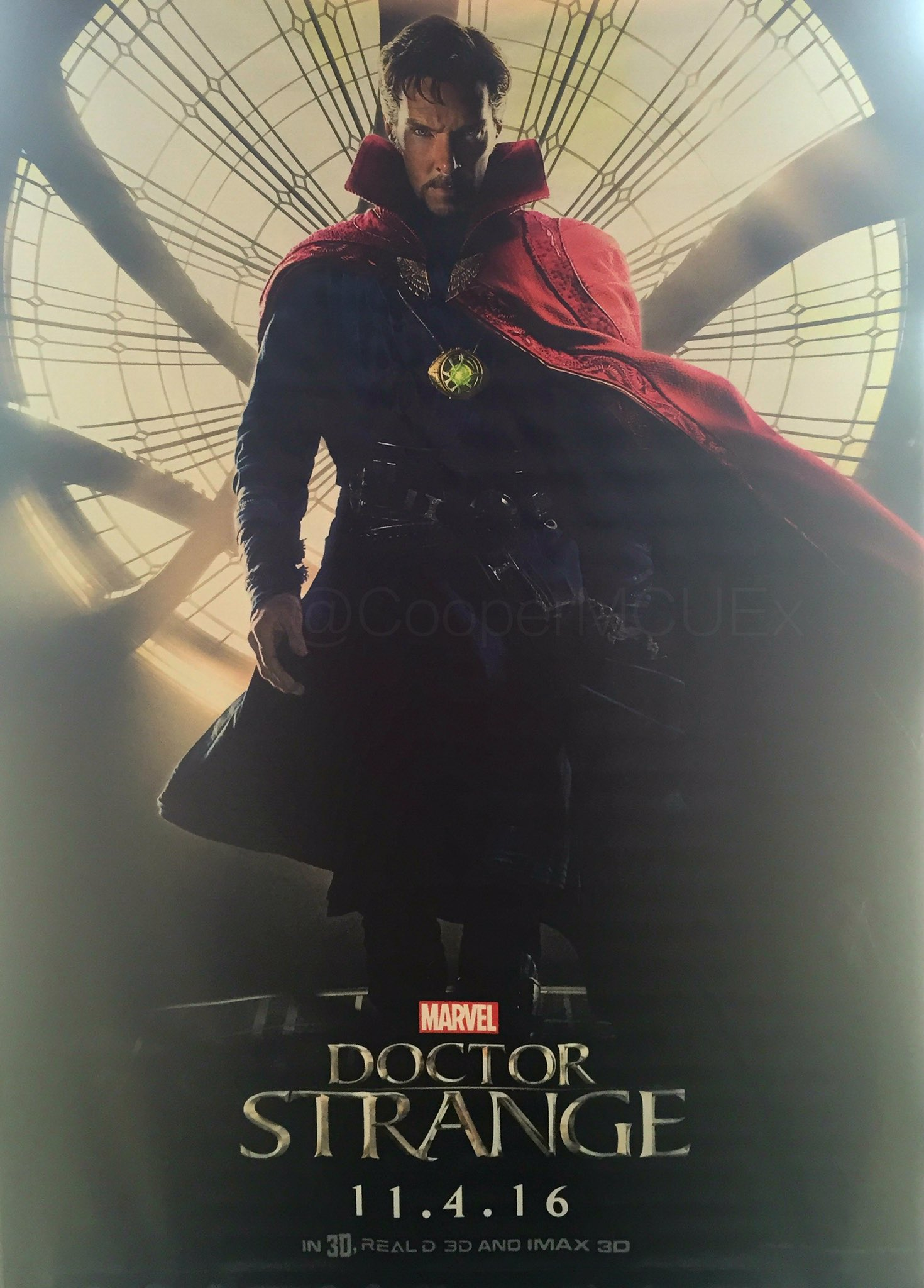 Benedict Cumberbatch Stands Tall On New Doctor Strange Poster