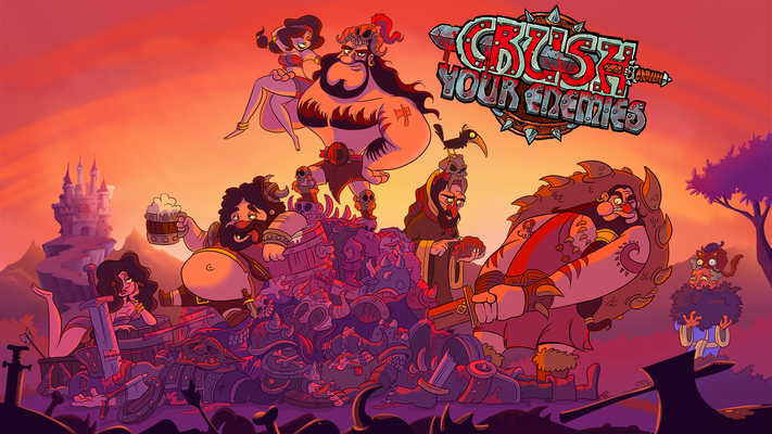 Crush Your Enemies title screen image