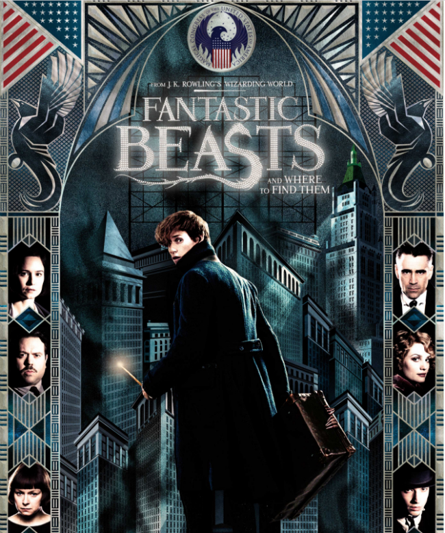 J.K. Rowling's Magical Universe Beckons Once More In Fantastic Beasts And Where To Find Them Poster
