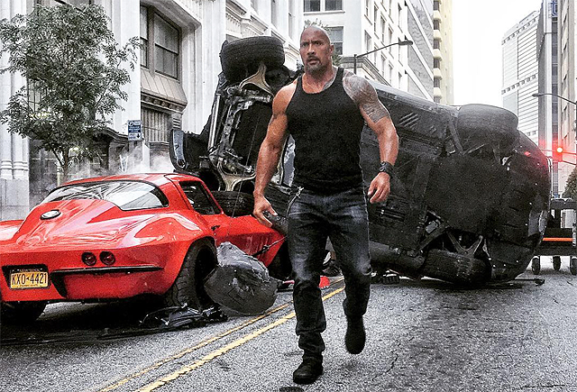 Dwayne Johnson Brings The Cavalry In Latest Fast 8 Snap