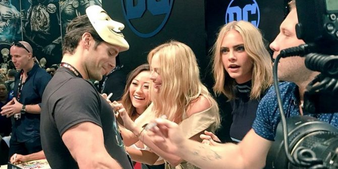 Watch Justice League Star Henry Cavill Prank The Cast Of Suicide Squad At Comic-Con