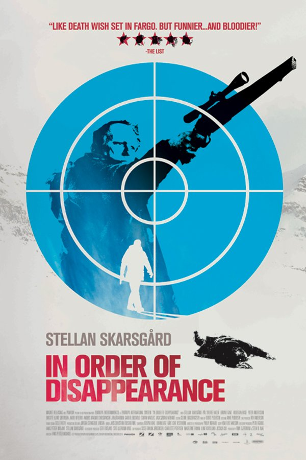 Exclusive Poster For In Order Of Disappearance Sees Stellan Skarsgård Taking Aim