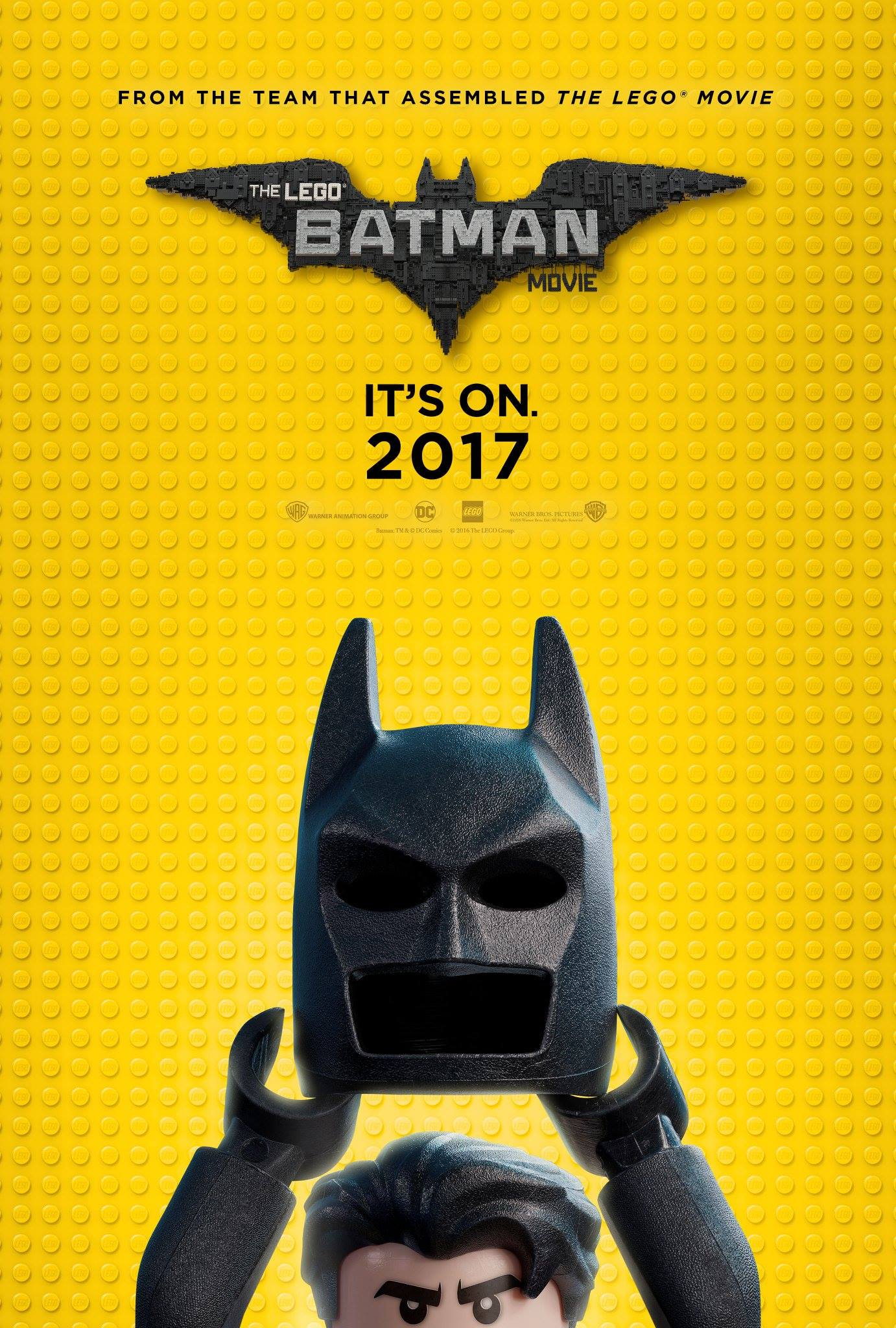 The Caped Crusader Prepares To Swoop Into SDCC With New LEGO Batman Movie Poster