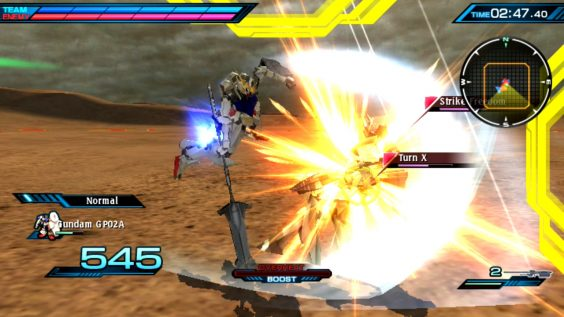 Mobile Suit Gundam Extreme VS Force 01