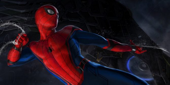 Is This Our First Look At The Shocker Of Spider-Man: Homecoming?