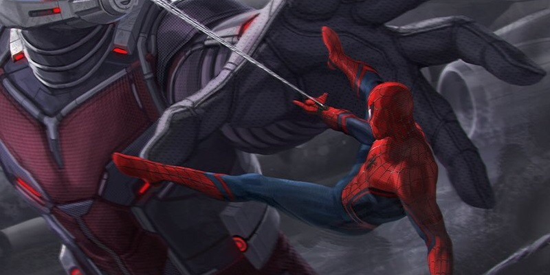 Spider Man Takes On Giant Man In More Captain America