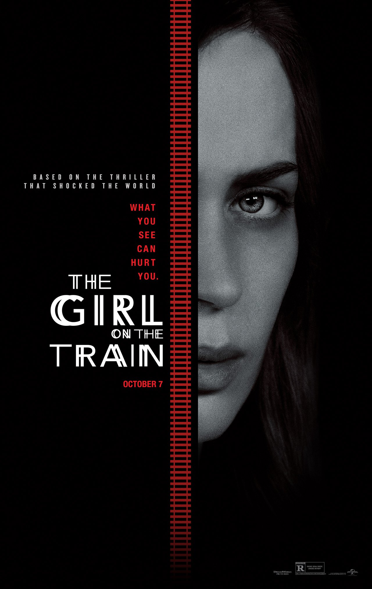 The Girl On The Train Featurette: Emily Blunt Can't Unsee The Unspeakable