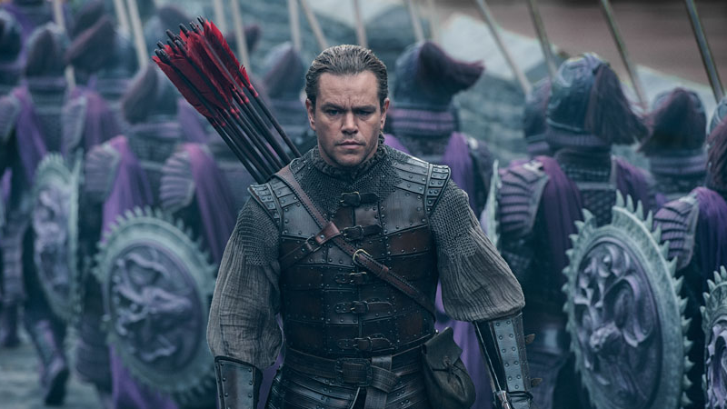 [Updated] Matt Damon Scales The Great Wall In First Images For Chinese Monster Movie