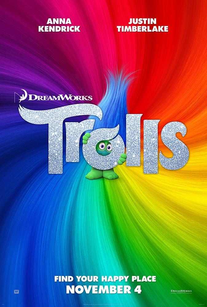 Extended Comic-Con Clip For Trolls Targets Your Happy Place
