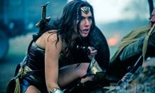 Wonder Woman Action Shot Thrusts Gal Gadot's Heroine Into Battle