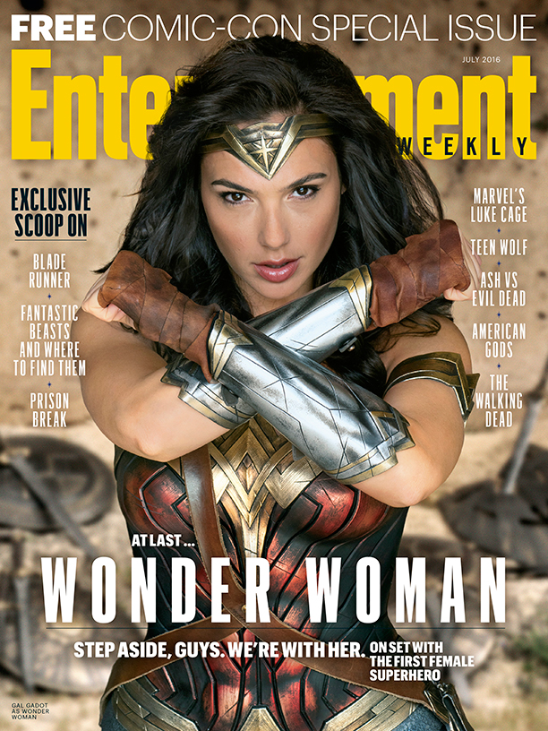 Gal Gadot's Wonder Woman Featured On EW's Free Comic-Con Special Issue
