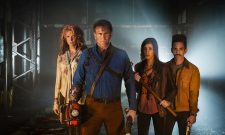 The Gang Are Back Together In Ash Vs. Evil Dead Season 2 Image