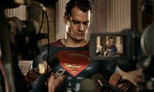 The Man Of Steel Leaps Into Action In New Pic For Batman V Superman: Dawn Of Justice